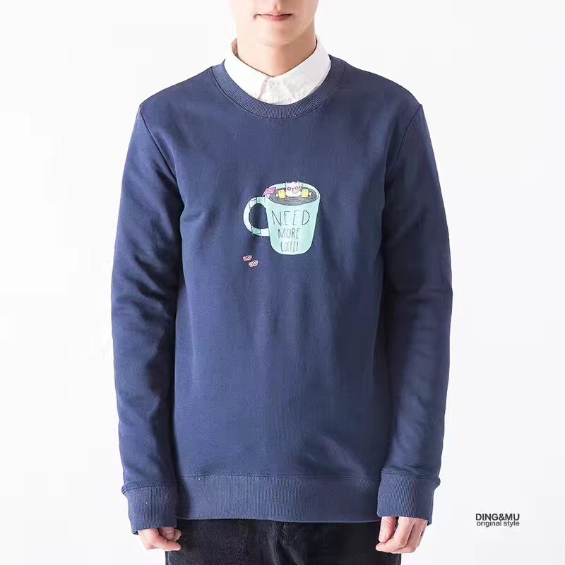 men round neck sweatshirts