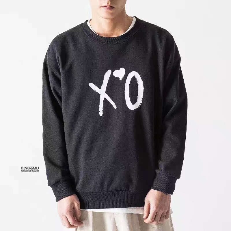 men round neck sweatshirts - 副本